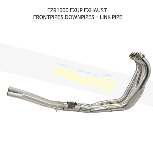 YAMAHA 야마하 FZR1000 EXUP EXHAUST FRONTPIPES DOWNPIPES + LINK PIPE 메니폴더 머플러 중통
