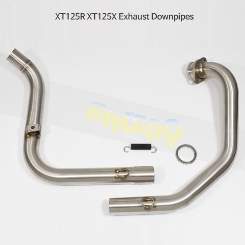 YAMAHA 야마하 XT125R/X Exhaust Downpipes 메니폴더 머플러 중통