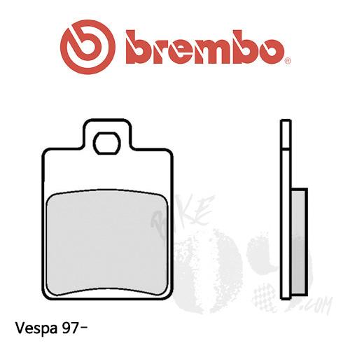 Vespa 97- 오토바이 브레이크 패드 브렘보 신터드