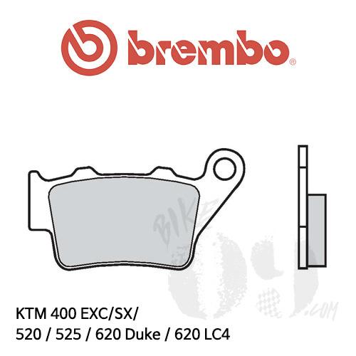 KTM 400 EXC/SX/ 520 / 525 / 620 Duke / 620 LC4 리어용 오토바이 브레이크 패드 브렘보 로드