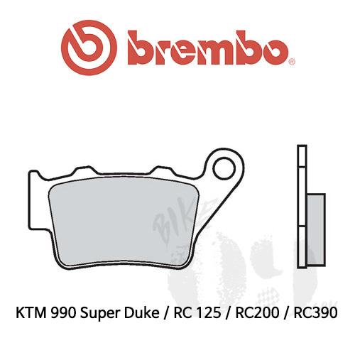 KTM 990 Super Duke / RC 125 / RC200 / RC390 / 리어용 오토바이 브레이크 패드 브렘보 로드