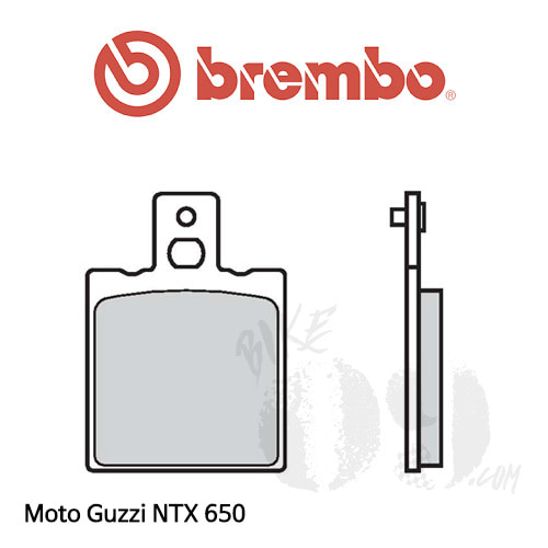 모토구찌 NTX 650 오토바이 브레이크패드 브렘보