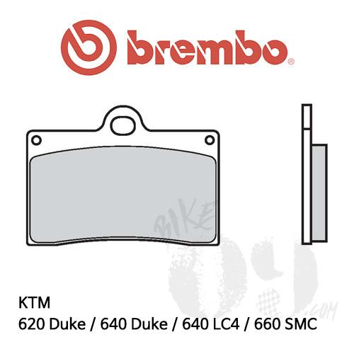 KTM 620 Duke / 640 Duke / 640 LC4 / 660 SMC / 오토바이 브레이크패드 브렘보 신터드 스트리트