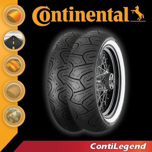 콘티넨탈 오토바이타이어 콘티레전드WW R 130/90-16 M/C 73H TL
