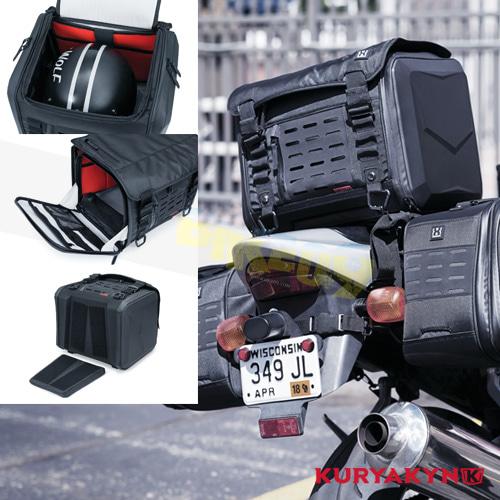 쿠리야킨 할리 튜닝 부품 할리범용 XKursion® XS Cube, Black 가방 핸들백 5295