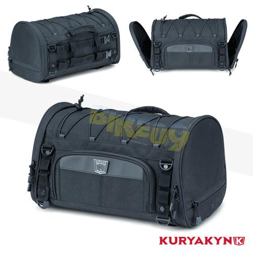 쿠리야킨 할리 튜닝 부품 할리범용 Momentum Rambler Roll Bag, Black 가방 핸들백 5213