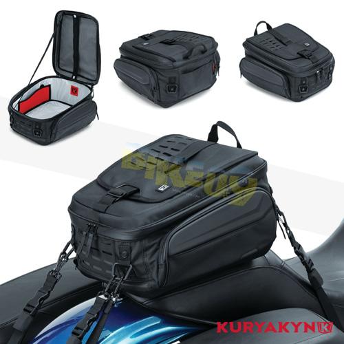 쿠리야킨 할리 튜닝 부품 할리범용 XKursion® XB Ambassador Tail Bag, Black 가방 핸들백 5256