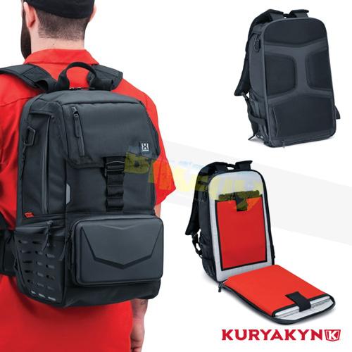 쿠리야킨 할리 튜닝 부품 할리범용 XKursion® XB Dispatch Backpack, Black 가방 핸들백 5292
