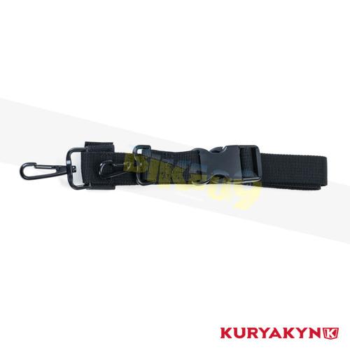 쿠리야킨 할리 튜닝 부품 할리범용 Replacement Double Snap Hook Luggage Mounting Strap, Black 가방 핸들백 5215