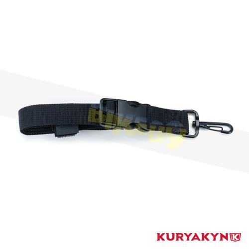 쿠리야킨 할리 튜닝 부품 할리범용 Replacement Loop Luggage Mounting Strap, Black 가방 핸들백 5297