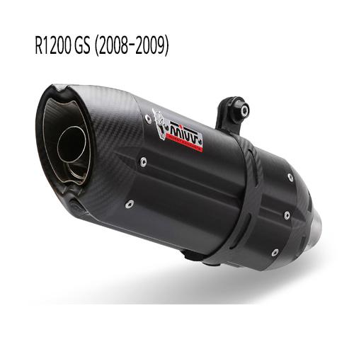 미브 R1200GS BLACK 수오노 슬립온 08-09 스틸 머플러 BMW