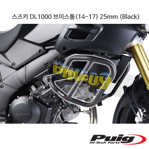 스즈키 DL1000 브이스톰(14-17) 25mm 푸익 엔진가드 (Black)