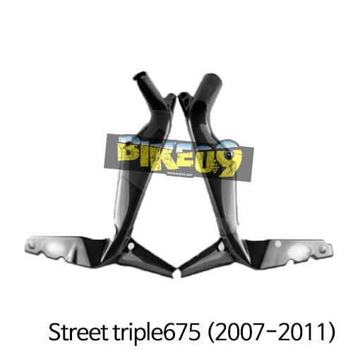 트라이엄프 Street triple675(2007-2011) 차대카본 프레임커버 스트리트트리플,데이토나675 (2006-2012) 카본 카울