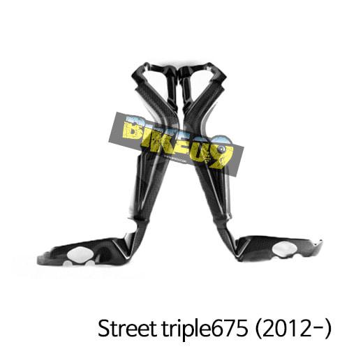 트라이엄프 Street triple675(2012-) 차대카본 프레임커버 스트리트트리플,데이토나675 (2013-) 카본 카울