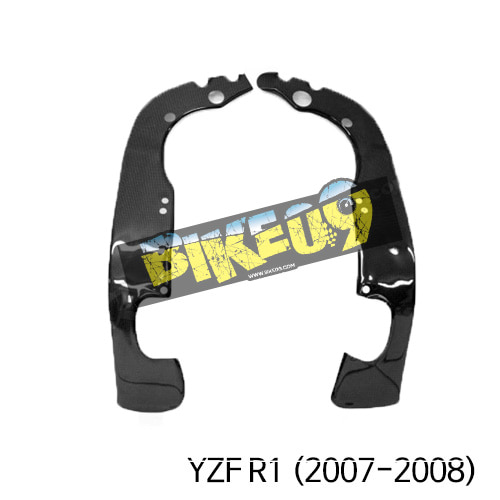 야마하 YZF R1(2007-2008) 카본 차대 프레임커버 카본 카울