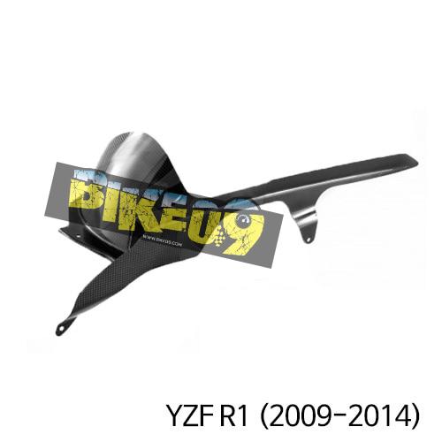 야마하 YZF R1(2009-2014) 리어허거r with 체인가드 카본 카울