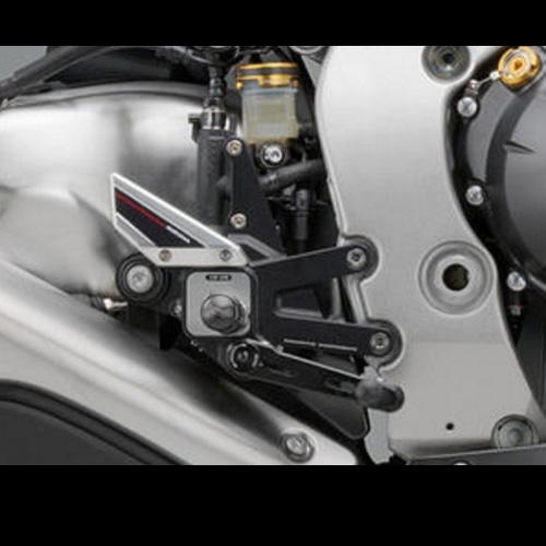 "리조마 HONDA CBR1000RR Fireblade (2012 - 2014) Rear sets control Kit ""EVO"""