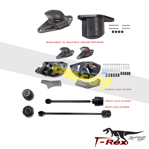 티렉스 프레임 슬라이더 아프릴리아 APRILIA RSV4(11-17) No Cut Frame Front/Rear Axle Sliders Case Covers GB레이싱