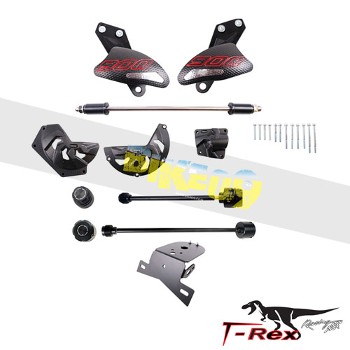 티렉스 프레임 슬라이더 아프릴리아 APRILIA 도로소두로900(18-19) Frame Front Rear Axle Sliders Engine Case Covers Fender Eliminator GB레이싱