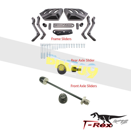 티렉스 프레임 슬라이더 BMW 알나인티(14-16) Engine Frame Sliders Front/Rear Axle Sliders GB레이싱