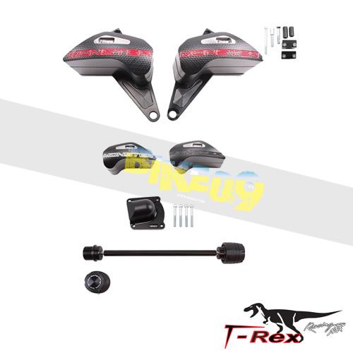 티렉스 프레임 슬라이더 두카티 DUCATI 몬스터821, 몬스터1200(14-17) No Cut Frame Front Axle Sliders Pump Cover GB레이싱