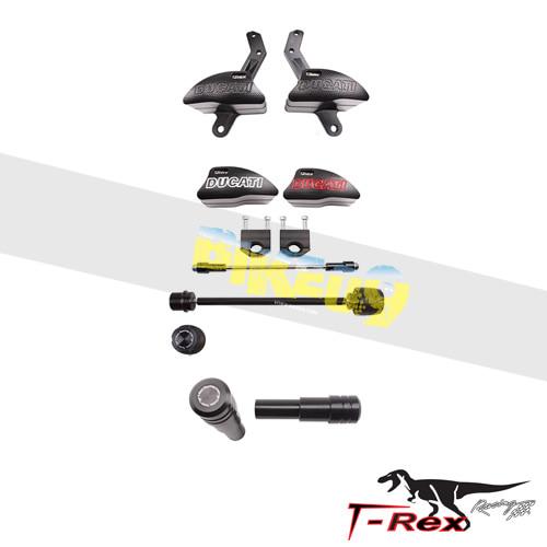 티렉스 프레임 슬라이더 두카티 DUCATI 멀티스트라다1200, 멀티스트라다1200S(15-17) No Cut Frame Front/Rear Quick Release Axle Sliders GB레이싱