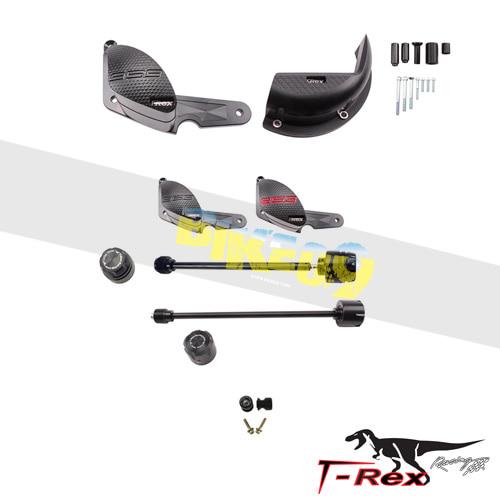 티렉스 프레임 슬라이더 두카티 DUCATI 파니갈레959(16-18) No Cut Frame Front & Rear Axle Sliders Spools GB레이싱