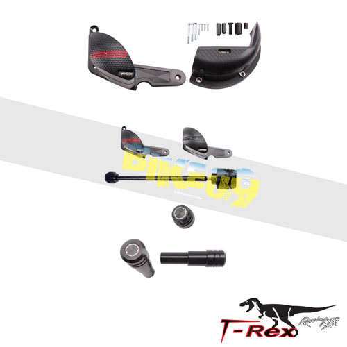티렉스 프레임 슬라이더 두카티 DUCATI 파니갈레1299, 파니갈레1299S, 파니갈레1299R(15-16) No Cut Frame Front/Rear Quick Release Axle Sliders GB레이싱