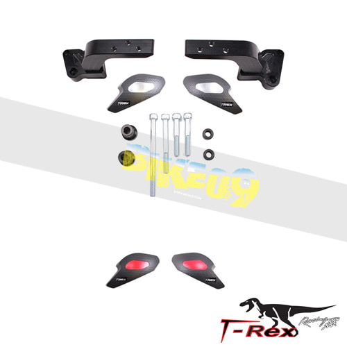 티렉스 프레임 슬라이더 혼다 HONDA VFR800 Interceptor Vtech(03-17) No Cut Frame Sliders GB레이싱