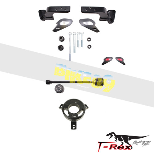 티렉스 프레임 슬라이더 혼다 HONDA VFR800 Interceptor Vtech(03-17) No Cut Frame Front/Rear Sliders GB레이싱