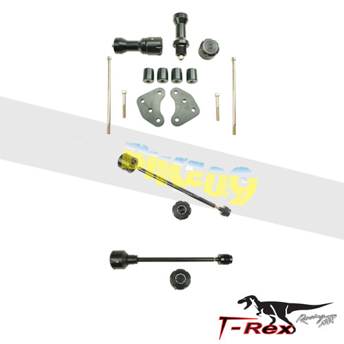 티렉스 프레임 슬라이더 허스크바나 HUSQVARNA SM610 SM SMR TC TE No Cut Frame Front & Rear Axle Sliders GB레이싱