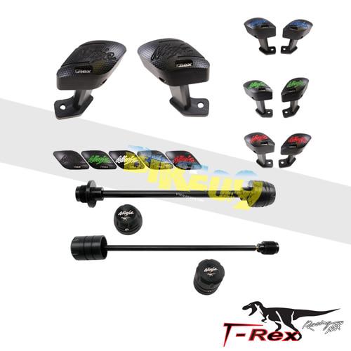 티렉스 프레임 슬라이더 가와사키 KAWASAKI ZX14R(12-15) No Frame Front/Rear Axle Sliders GB레이싱