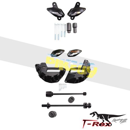 티렉스 프레임 슬라이더 KTM 슈퍼듀크1290, 슈퍼듀크1290R(14-16) No Cut Frame Front/Rear Axle Sliders Case Covers Bar Ends GB레이싱