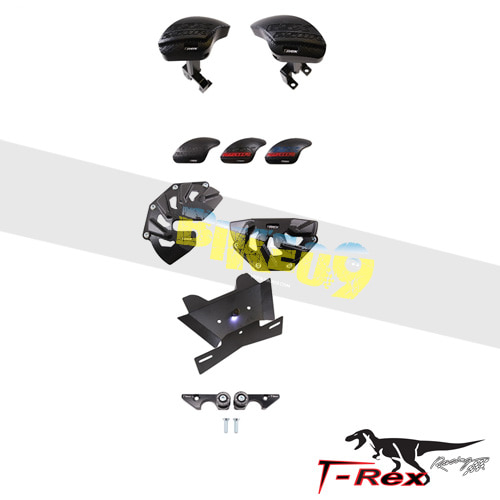 티렉스 프레임 슬라이더 스즈키 SUZUKI GSX250R(17-18) Frame Sliders Case Covers Fender Eliminator Spool Adapters GB레이싱
