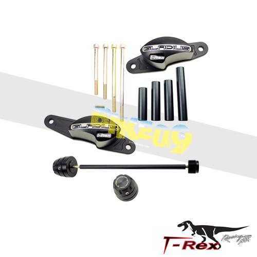 티렉스 프레임 슬라이더 스즈키 SUZUKI SFV650 글라디우스(09-15) No Cut Frame Rear Axle Sliders Spools GB레이싱
