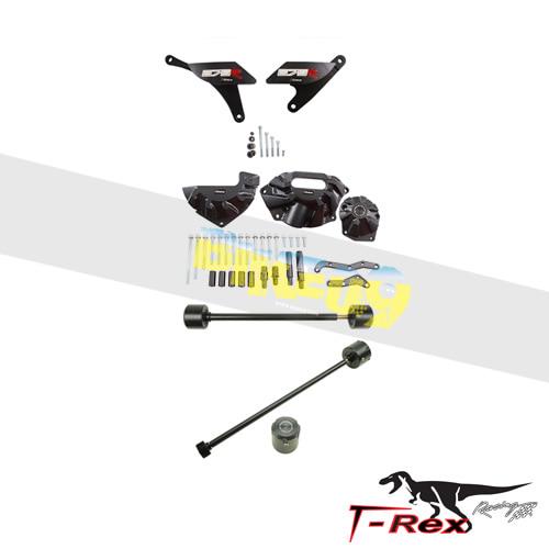 티렉스 프레임 슬라이더 트라이엄프 TRIUMPH 데이토나675(13-17) No Cut Frame Front/Rear Axle Sliders Case Covers Spools ® GB레이싱
