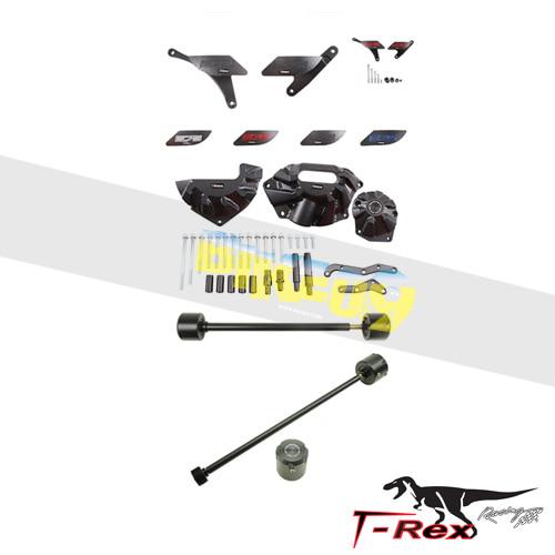 티렉스 프레임 슬라이더 트라이엄프 TRIUMPH 데이토나675(13-17) No Cut Frame Front/Rear Axle Sliders Case Covers Spools (Non R) GB레이싱