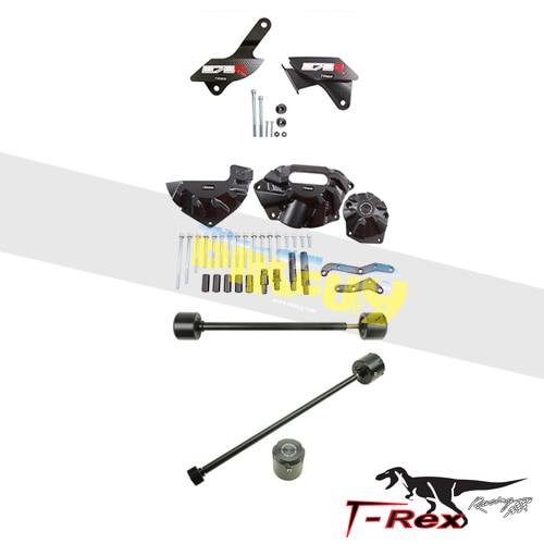 티렉스 프레임 슬라이더 트라이엄프 TRIUMPH 데이토나675, 데이토나675R No Cut Frame Front/Rear Axle Sliders Case Covers Spools GB레이싱