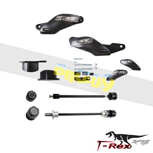 티렉스 프레임 슬라이더 트라이엄프 TRIUMPH 스피드트리플, 스피드트리플R(11-16) No Cut Frame Front/Rear Axle Sliders GB레이싱