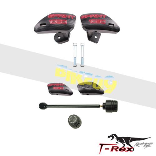 티렉스 프레임 슬라이더 트라이엄프 TRIUMPH 스프린트 ST, 스프린트 GT(05-14) No Cut Frame Front Axle Sliders GB레이싱