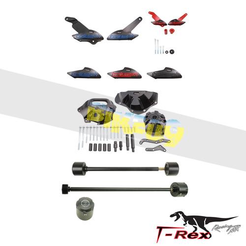 티렉스 프레임 슬라이더 트라이엄프 TRIUMPH 스트리트트리플, 스트리트트리플R(13-16) No Cut Frame Front/Rear Axle Sliders Case Covers Spools GB레이싱