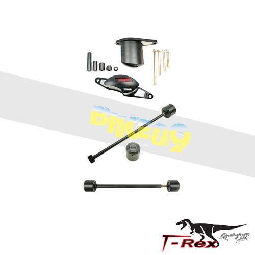 티렉스 프레임 슬라이더 트라이엄프 TRIUMPH 타이거800, 타이거800XC, 타이거800XRX(10-14) No Cut Frame Front/Rear Axle Sliders Spools GB레이싱