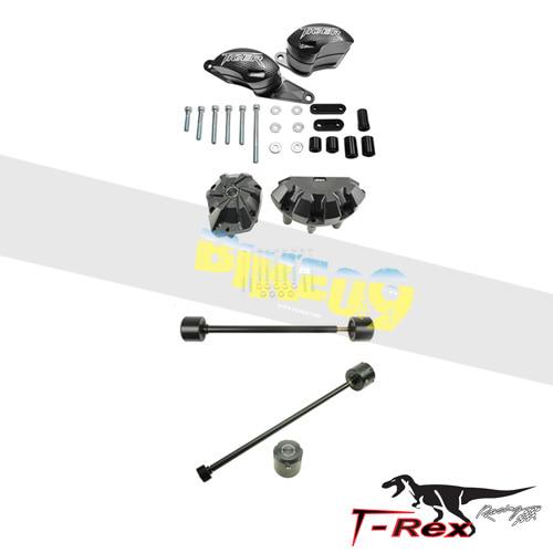 티렉스 프레임 슬라이더 트라이엄프 TRIUMPH 타이거800, 타이거800XC, 타이거800XRX(15-16) No Cut Frame Front/Rear Axle Sliders Case Covers Spools GB레이싱