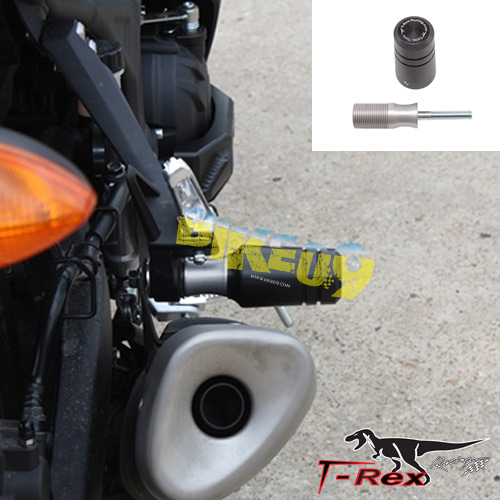 티렉스 휀더리스킷 야마하 YAMAHA YZF-R3(15-17) Exhaust Sliders GB레이싱