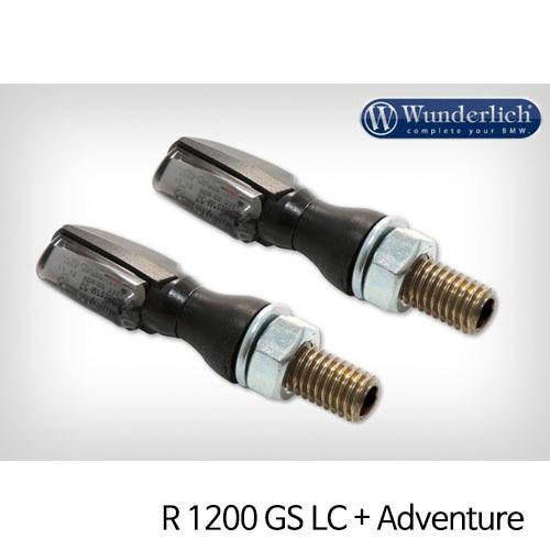 분덜리히 R1200GS LC/어드벤처 LED tail light indicator pair SPARK tinted 블랙