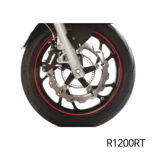 분덜리히 R1200RT Wheel rim stickers - red