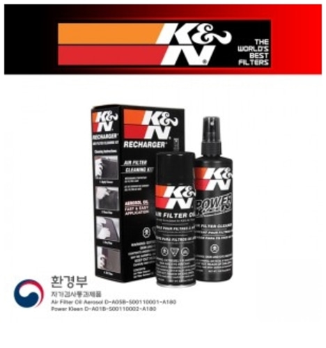 K&N BMC 케이엔엔 에어필터 세척 클리너
