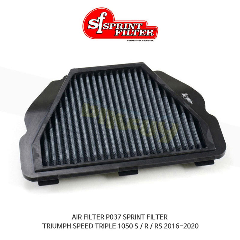 스프린트 필터 에어필터 TRIUMPH 트라이엄프 스피드트리플1050S/R/RS (16-20) AIR FILTER P037