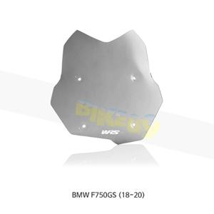 BMW F750GS (18-20) WRS 윈드스크린 투어링 다크 스모크 장착 키트포함 BM028FS+BM206N