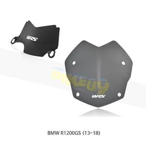 BMW R1200GS (13-18) WRS 윈드스크린 랠리 다크 스모크+CENTRAL 디플렉터 BM045FS+BM011NO